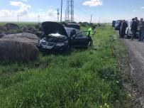 Tekeri Patlayan Otomobil Yoldan Çıktı Açıklaması 5 Yaralı