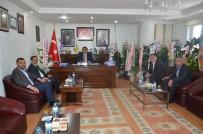 Vali Aktaş, Gülşehir Belediye Başkanı Çiftçi'yi Ziyaret Etti