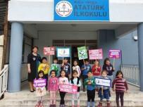 SAVAŞ KARŞITI - Minik Öğrencilerden Savaşa Karşı Bir Milyon Zeytin Dalı