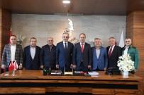 ALİ ALKAN - Başkan Esen, Esnaf Temsilcilerini Ağırladı