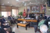 BILECIK MERKEZ - Başkan Yaman'a Ziyaretler Devam Ediyor