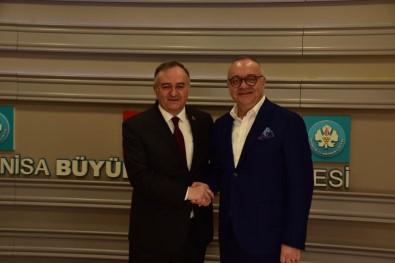 MHP'den Başkan Ergün'e Tebrik Ziyareti
