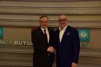 ERKAN AKÇAY - MHP'den Başkan Ergün'e Tebrik Ziyareti