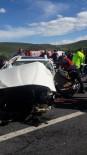 HASAN GEMICI - Mersin'de Trafik Kazası Açıklaması 3 Yaralı