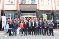 CHP'li Vekillerden Başkan Bilgin'e Tebrik Ziyareti