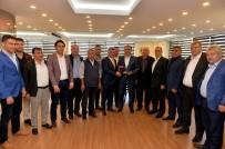 ALİ ALKAN - Taksici Esnafından Başkan Uysal'a İşgaliye Harcı Teşekkürü