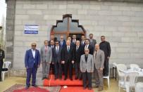 İmece Usulü İle Yaptırılan Cami İbadete Açıldı