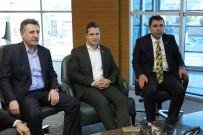 AYTUN ÇIRAY - Başkan Sandal'ı Siyasi Parti Temsilcileri De Yalnız Bırakmadı