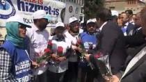 TANJU ÖZCAN - Bolu Belediyesi'nde İşten Çıkarılan İşçilerin Oturma Eylemi