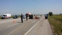 Adana'da Trafik Kazası Açıklaması 6 Yaralı