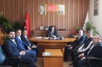 AK Parti Gençlik Kollarından Başkan Taşyapan'a Hayırlı Olsun Ziyareti