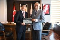 HIROŞIMA - Japonya Büyükelçisi Miyajima'dan Başkan Gökhan'a Ziyaret