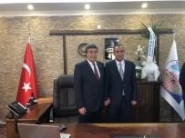 Ataş'tan İncesu Belediye Başkanı İlmek'e 'Hayırlı Olsun' Ziyareti