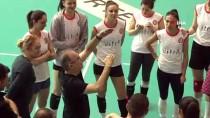 MARCO AURELIO - Eczacıbaşı Vitra, Galatasaray Maçı Hazırlıklarını Sürdürdü