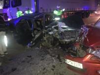 GÜNAY ÖZDEMIR - Bilecik'te Meydana Gelen Trafik Kazasında 2'Si Ağır 5 Kişi Yaralandı