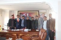 Taşlıçay Spor Kulübünden Başkan Taşdemir'e Ziyaret