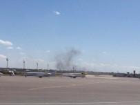 MİLLİ MUTABAKAT - Trablus'un Matiga Havaalanı Bombalandı