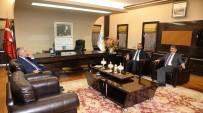 HAMZA YERLİKAYA - Cumhurbaşkanı Başdanışmanlarından Başkan Yılmaz'a Hayırlı Olsun Ziyareti