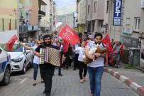 TÜRK TABIPLER BIRLIĞI - 1 Mayıs Emek Ve Dayanışma Günü, Artvin'de Renkli Kutlandı