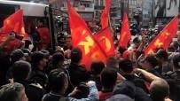 HALKIN KURTULUŞ PARTİSİ - Beşiktaş'tan Taksim'e Yürümek İsteyen Göstericilere Polis Müdahalesi