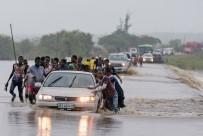 DELGADO - Kasırganın Vurduğu Mozambik Havadan Görüntülendi