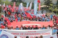 ÖNDER KAHVECI - Türkiye Kamu-Sen'den Samsun'da '1 Mayıs' Mitingi