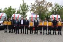 GÜNEYYURT - Karaman'a Gönderilen 7 Yeni Ambulans Göreve Başladı