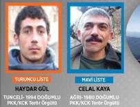 PKK - PKK'ya ağır darbe! Biri mavi, diğeri turuncu kategoride aranıyordu