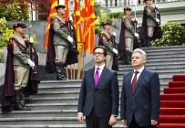 BULGARİSTAN CUMHURBAŞKANI - Kuzey Makedonya'nın Yeni Cumhurbaşkanı Pendarovski Görevi Teslim Aldı