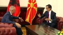BULGARİSTAN CUMHURBAŞKANI - Kuzey Makedonya'nın Yeni Cumhurbaşkanı Pendarovski Görevine Başladı
