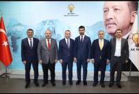 AK Partili Tek,'4 İlçe Başkanımızın Ataması Yapıldı'