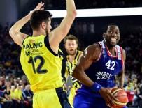 EFES PILSEN - Avrupa basketbolunda 70. kez Türk derbisi