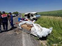 Tarım İşçilerini Taşıyan Minibüs Takla Attı Açıklaması 1 Ölü, 7 Yaralı