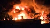 İVEDİK ORGANİZE SANAYİ BÖLGESİ - Başkentte Organize Sanayi Bölgesinde Yangın