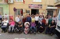 TOLGA ÇANDAR - Bedensel Engelliler Derneği'nden Başkan Akın'a Sıcak Karşılama