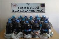 Jandarma 115 Litre Kaçak İçki Ele Geçirdi