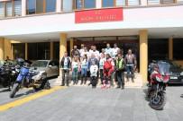 YUSUF GÜLER - Motosiklet Kulubü Üyeleri Samsun'a Uğurlandı