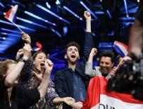 EUROVISION - İsrail'deki Eurovision Finaline Madonna Filistin Bayrağıyla Damga Vurdu
