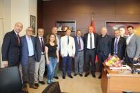 ADNAN SEZGIN - İYİ Parti Milletvekili Aydın Adnan Sezgin'den Başkan Tuncel'e Ziyaret