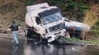 Ağrı'da Trafik Kazası Açıklaması 1 Yaralı