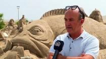 CEM KARACA - Kum Heykeller 'Deniz Efsaneleri' İle Sezonu Açtı