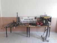 Konya'da Kaçak Kazı Operasyonu Açıklaması 5 Gözaltı