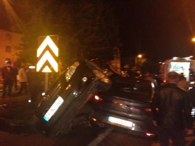 Amasya'da Trafik Kazası Açıklaması 4 Yaralı