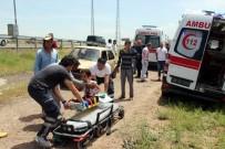SÜKSÜN - Takla Atan Otomobilde Can Pazarı Açıklaması 5 Yaralı