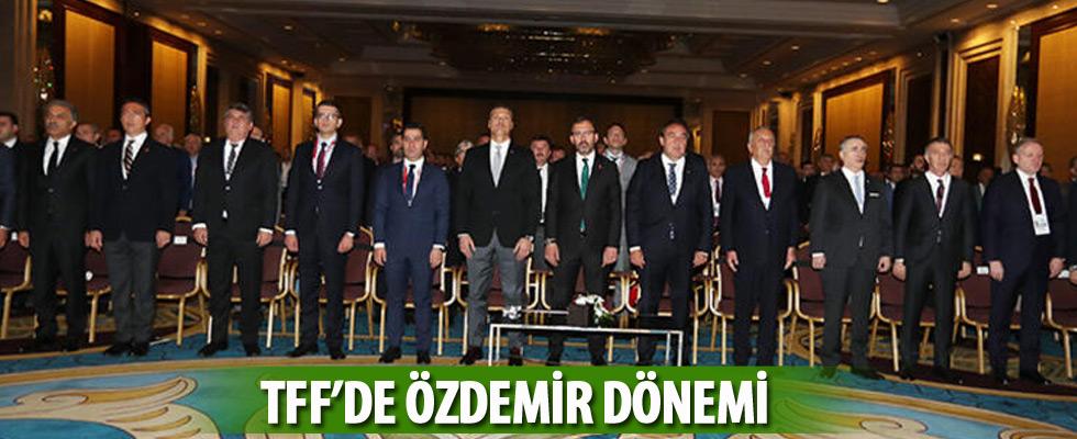 Türkiye Futbol Federasyonu 42. başkanı Nihat Özdemir!