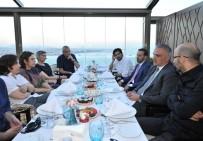ALI BILGIN - Türkiye'nin Önde Gelen Yönetmenlerinden Bakan Ersoy'a İftar Daveti
