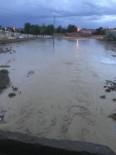 Nevşehir'de Köyleri Sel Vurdu