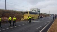EDINCIK - Bandırma'da Feci Otobüs Kazası Açıklaması 4 Ölü 42 Yaralı