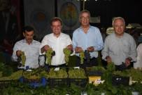 HÜSEYİN KAĞIT - Mersin'de 3. Örtüaltı Üzüm Festivali Yapıldı