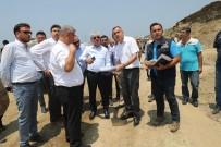 MEHMET EKİNCİ - Vali Doğan, Samandağ-Arsuz Arasında Yapımı Süren Yol Çalışmalarını İnceledi